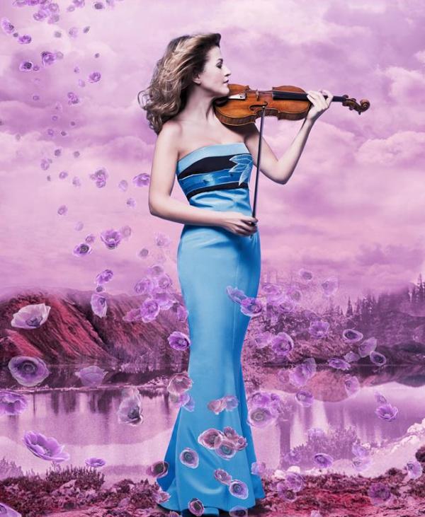 Anne-Sophie Mutter, violinist