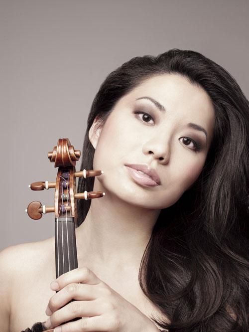 Sarah Chang, violinist