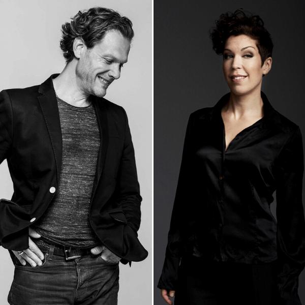 Palle Knudsen and Tuva Tuva Semmingsen